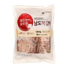 쉐프솔루션 남도떡갈비(냉동 1.05Kg)