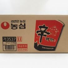 농심 신라면(컵 65g*30EA/BOX)