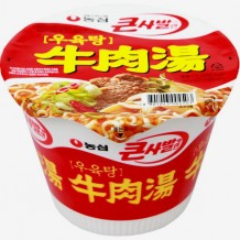 농심 우육탕 큰 사발면(115g*16EA/Box)
