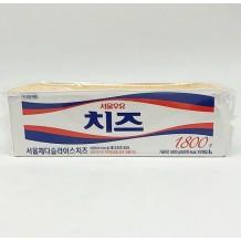 서울우유 체다슬라이스치즈(18g*100매 1.8Kg)