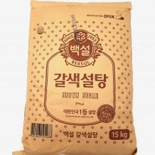 백설 갈색설탕(15Kg)