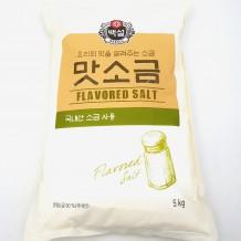 백설 맛소금(5Kg)