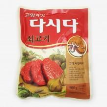 백설 다시다(쇠고기 500g)