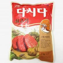 백설 다시다(쇠고기 2Kg)
