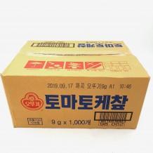 오뚜기 케찹(일회용 9g*1000EA 9Kg/BOX)
