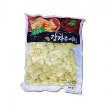 미농식품 감자수제비(냉장 1Kg 수입산)