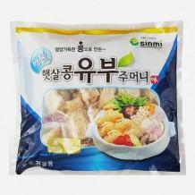 해물 햇살콩 유부주머니(냉동 신미 650g)
