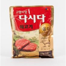 백설 다시다(골드 쇠고기 1Kg)