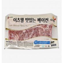 이츠웰 맛있는베이컨(냉동 1Kg)
