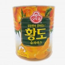 오뚜기 황도캔(슬라이스 3Kg 중국)