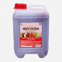 이슬나라 치킨양념소스(매운맛 10KG)