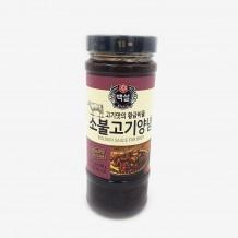 백설 소불고기양념(실온 500g*12EA/BOX)