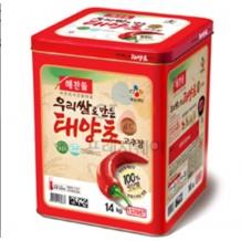 해찬들 태양초 고추장(골드 우리쌀로만든 14Kg)