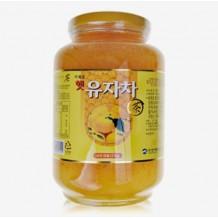 꿀유자차(산내원 2KG*6EA/BOX)