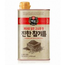 백설 진한참기름(500ml)