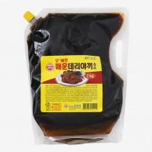 오뚜기 오쉐프 매운데리야끼소스(2KG)
