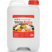 몽고 초고추장(마산몽고 매실맛 12Kg)