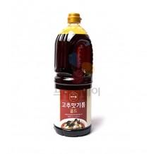 차이웰 고추맛기름 골드(PET 1.8L 중국)