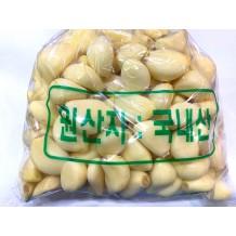 깐마늘 통마늘 왕 1Kg (국내산)